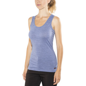 Devold Breeze Singlet Women Bluebell Melange